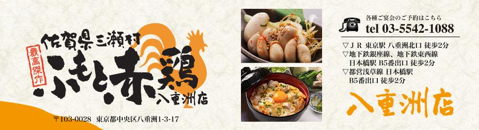 最高傑作 佐賀県三瀬村ふもと赤鶏 八重洲店